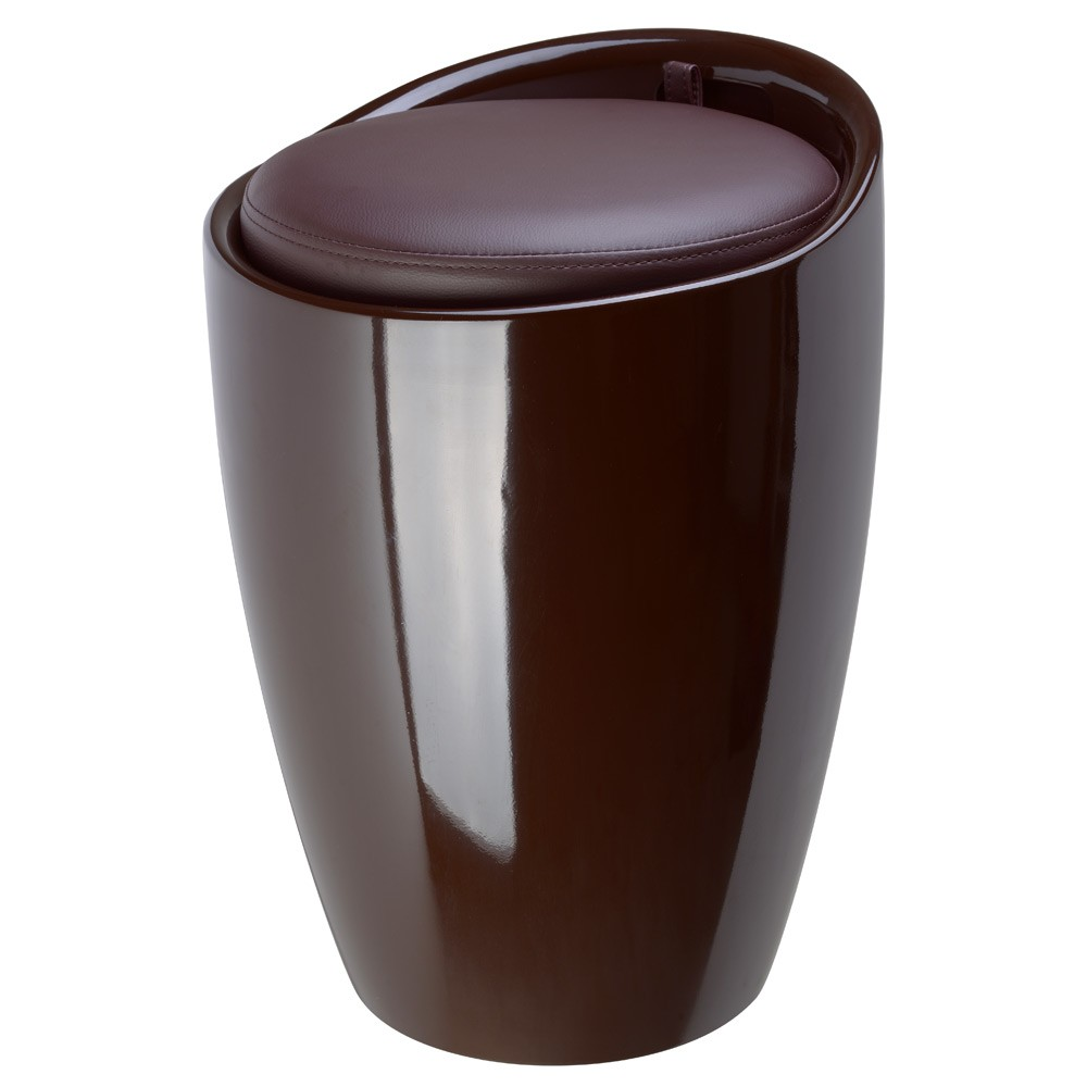 Pouf pop portabiancheria cioccolato l 39 angolo bellaria for Portabiancheria ikea